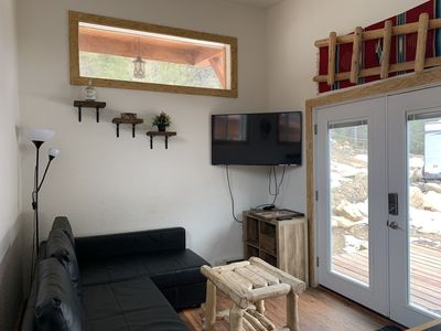 Photo for Fully-Furnished 2 BR Mountain Cabin in the Rockies