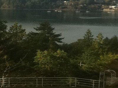 VIEW FROM OUR DECK...MAPLE BAY IS A GREAT SEASIDE COMMUNITY W/MANY ATTRACTIONS