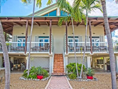Photo for P64 - Spacious 3 bedroom duplex in Key Colony with dockage and Cabana Club Access!