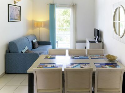 Photo for Beautiful apartment for 8 guests with pool, hot tub, WIFI, TV, balcony, pets allowed and parking