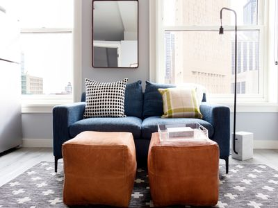 Sonder | The Plymouth | Cozy  2BR + Rooftop