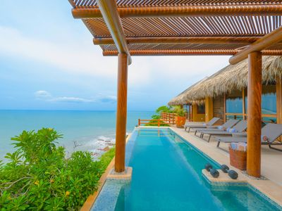 Photo for Luxury Beach Villa in 5-Star Oceanfront Resort - 1,3,& 5 BDRM Rates Available