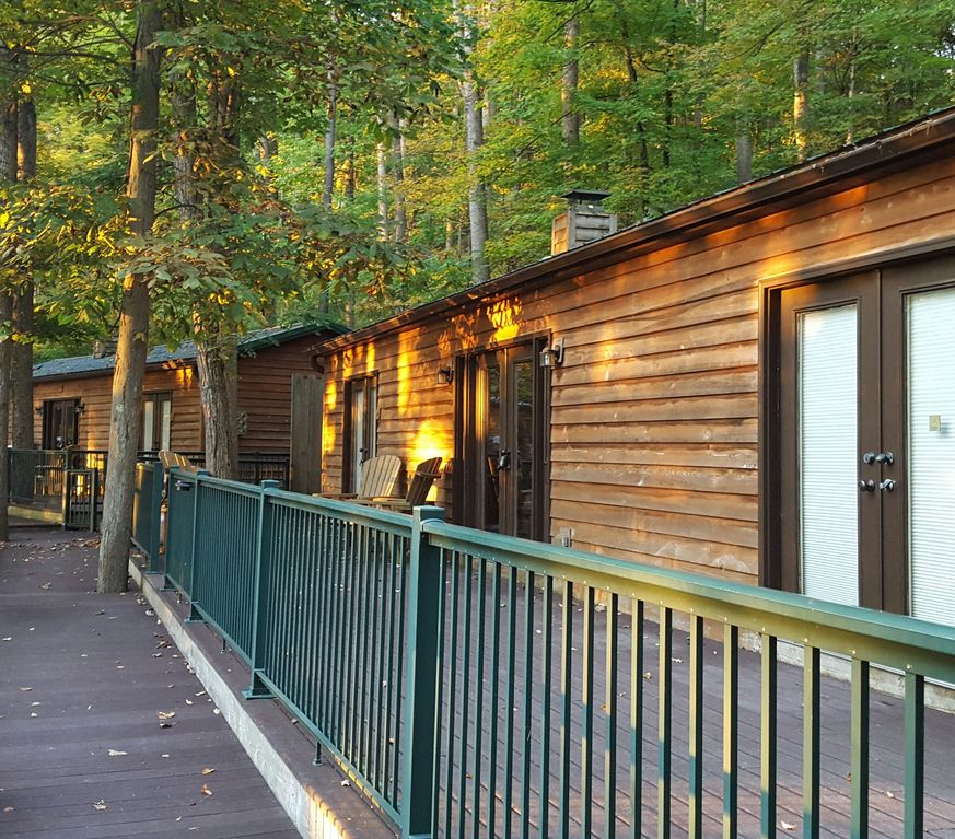 Cabin Of Kelly Mountain Located The Allegheny Mountains Of West Virginia.