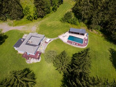 Photo for Bovina Estate 50+ Acres,HOT TUB,  Heated In-ground Pool, Two Ponds, Jacuzzi Tub