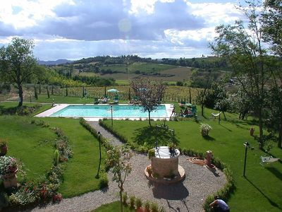 Photo for Apartment in Montepulciano with Internet, Pool, Parking, Washing machine (439379)