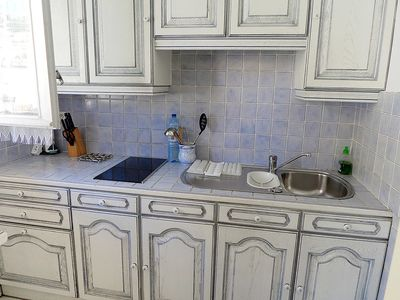 Photo for Apartment in the center of Menton with Lift, Washing machine, Air conditioning, Balcony (109541)