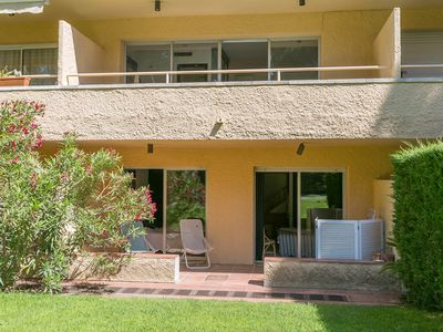 Photo for 3 bedroom duplex in Platja de Pals with terrace, private garden and shared pool (H52)