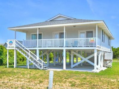 Photo for Beautiful, Ocean View 4 Bdrm/2 Bath Beach Cottage Close to Beach!!! Sleeps 11