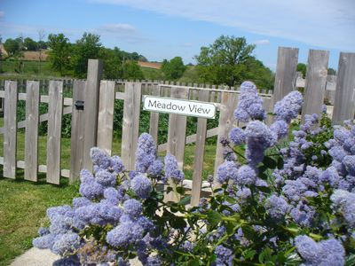 Photo for Wisdom Gites - Meadow View holiday cottage with pool, garden and free WiFi,