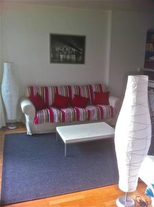 Photo for Bright apartment with terrace , between park and canal, ideal to move in paris