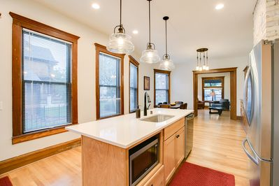 Large windows along the south side living area--great lighting!