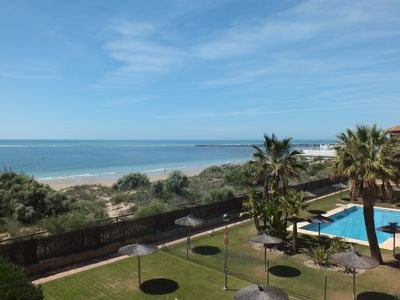 Photo for Beachside apartment in Southern Spain with balcony and stunning ocean views