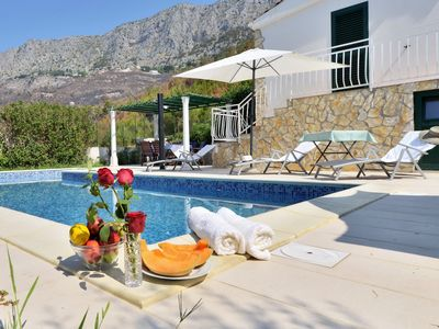 Photo for Dream Holiday Villa with private pool in a secluded location near the beach