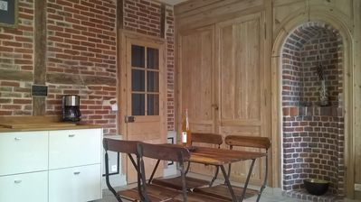 Photo for CHARMING APARTMENT 4 PEOPLE. CENTER HONFLEUR. PRIVATE PARKING. FREE WIFI
