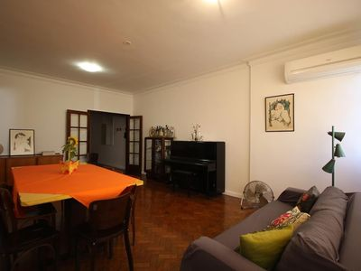 Photo for Apartment 1.1 km from the center of Rio de Janeiro with Lift, Air conditioning (727320)