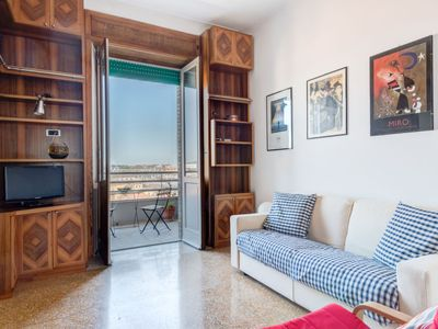 Photo for Rignano Flaminio Apartment, Sleeps 4 with Air Con and Free WiFi