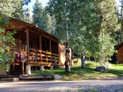 Photo for Peaceful Getaway in a 3 bedroom cabin ~ 1/2 mile from beautiful Lake Vallecito