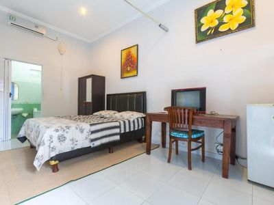 Photo for (STD) Cozy Room in Trendy area Canggu, Cozy Small Resort within 10 Mins to Beach