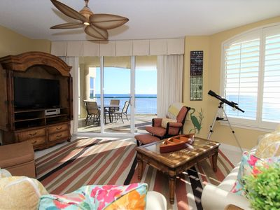 Photo for Beach Colony East 7C- Beach Front unit with large terrace & amazing views!