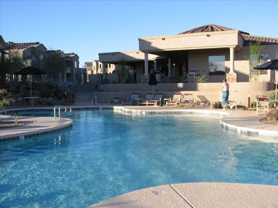Photo for 2 Bed+ Den 2 1/2 Bath Grayhawk Mountain View & high speed Wi-Fi Internet