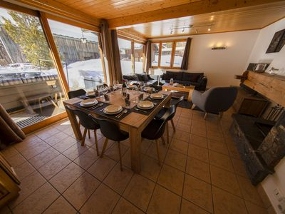 Photo for Ski-To-Door chalet with OUTDOOR JACUZZI in Morzine-Avoriaz