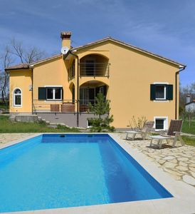 Photo for Beautiful two-storey villa with private pool, air conditioning, WiFi, barbecue and a parking for 5 cars