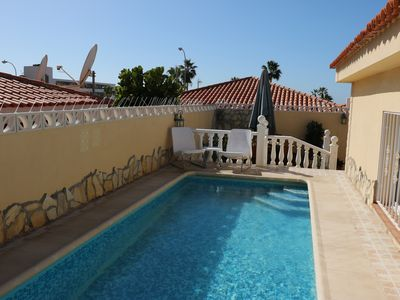 Photo for Villa Sueño Azul with private pool, sea views, terrace, wifi, 450 m to the beach