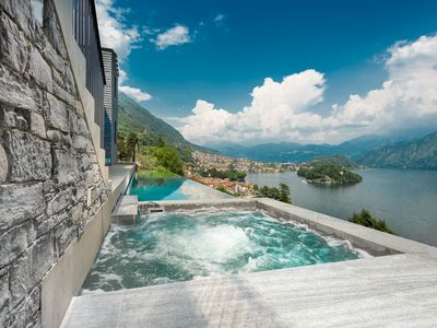 "Photo for LUXURY VILLA MOLLI ""BRAND NEW"" infinity pool and hot tub Best view point"