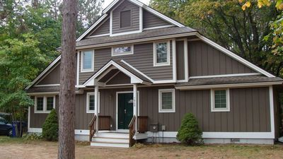 Photo for The Treehouse, Walking Distance To Crystal Ski/Golf!  Beautiful 2-3 Family Home.
