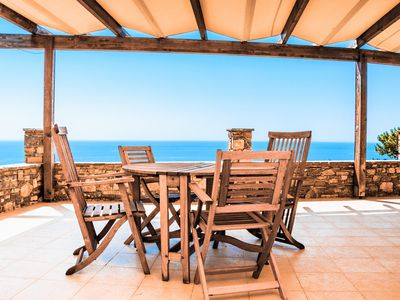 "Photo for ""Nista House"" a great Villa with sea view"