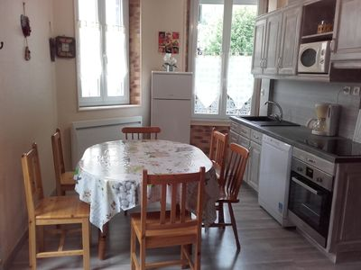 Photo for Mont Dore apartment with terrace in the city center