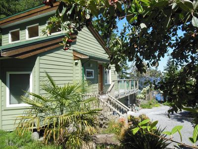 Photo for Cozy cottage on a waterfront property on Galiano Island