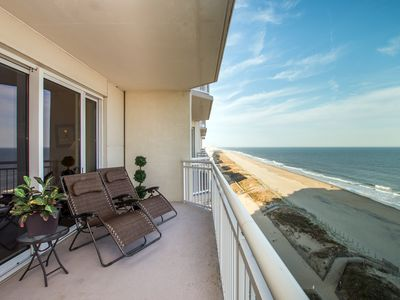 Photo for Never Rented! Luxury Oceanfront - Linens & Registration Fee Included!