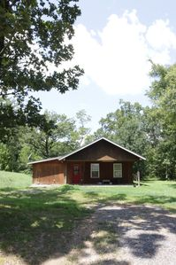 Photo for Private, Peaceful Getaway near woods