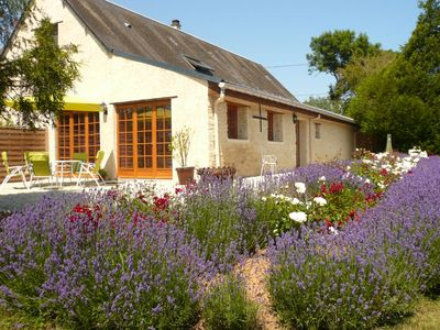 Photo for Detached holiday home in the Normandy countryside