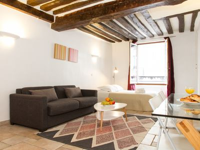Photo for SPACIOUS STUDIO LOCATED NEAR THE LOUVRE MUSEUM AND THE TUILERIES GARDEN