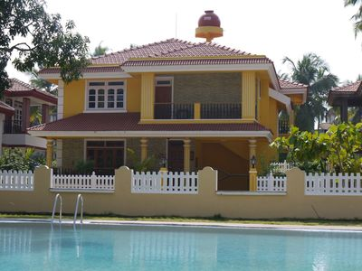 Photo for Beautiful Portuguese Style Detached Villa with shared pool in Colva (South Goa)