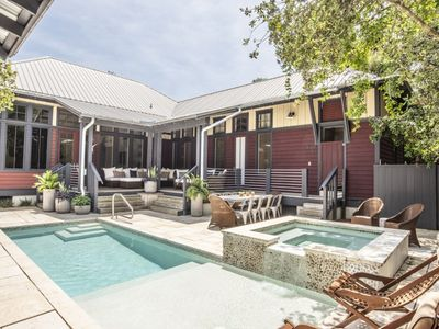 Photo for The Zen Den, 30A Cottages, Outdoor Oasis w/ Private Pool & Spa, Fall Up to 30% Off!