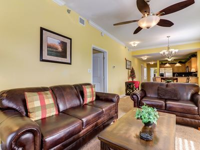 Photo for NEW LISTING! River view condo w/ shared pool, hot tub close to Pigeon Forge