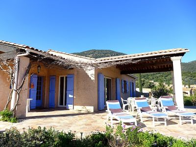 Photo for House 572 m from the center of Cavalaire-sur-Mer with Internet, Air conditioning, Parking, Terrace (450095)