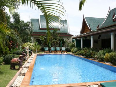 Photo for ⭐Blissful Modern Resort 6BR w/ Pool & Breakfast