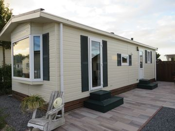 Chalet on ADAC Supercamping Julianahoeve, Netherlands, Renesse, sea