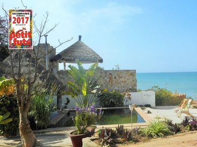 Photo for Beach at 20m, ecological swimming pool, ocean view
