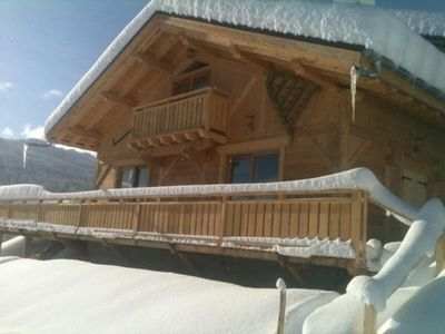 Photo for chalet 15 people on ski slopes classified 4 stars