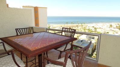 Photo for Beautiful 1½ Bedroom Condo on the Sea of Cortez at Las Palmas Resort D-603A