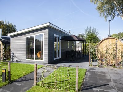 Photo for Comfortable 6-person XL chalet in the Veluwe. Enjoy a comfortable stay at recreation park De Boshoek!