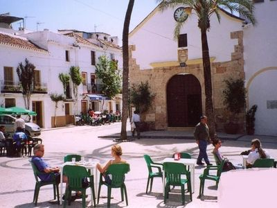 Photo for Typical small white house in Andalusian village 9 km from Marbella beach