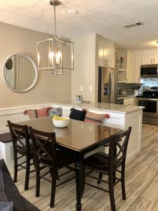 Comfortable Renovated Dining Kitchen Areas perfect for relaxing.