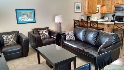 Photo for Palms townhouse, 2000 sq feet perfect for families, close to beach