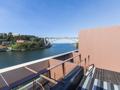 Photo for Apartment 904 m from the center of Porto with Lift, Parking, Terrace, Washing machine (675330)